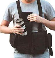 CHESTVEST NEWSWARE MENS DIGITAL