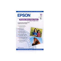 PAPIER EPSON PREMIUM GLOSSY A4 255GRS/15F