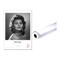 "PAPIER HAHNEMUHLE PHOTO RAG 308GRS 24""x12m"
