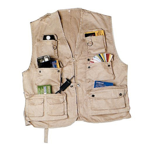 Gilet photo Iso Taille M beige
