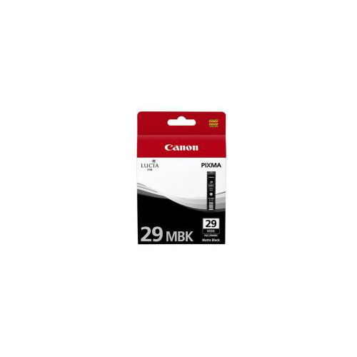 CARTOUCHE CANON PGI-29 MBK MATTE BLACK INK CARTRIDGE  PRO-1