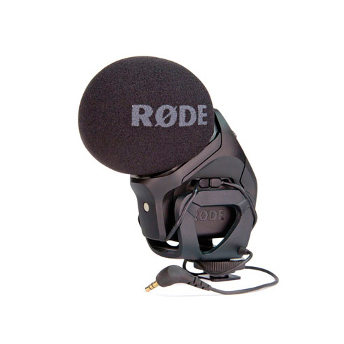 MICRO RODE STEREO VIDEO MIC PRO