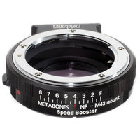 BAGUE METABONES SPEED BOOSTER Nikon G to Micro 4/3 Ultra 0.71x