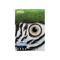 PAPIER EPSON FINE ART COTTON SMOOTH BRIGHT A4 25F 300gr