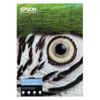 PAPIER EPSON FINE ART COTTON SMOOTH NATURAL A4 25F 300gr