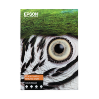 PAPIER EPSON FINE ART COTTON TEXTURED BRIGHT A4 25F 300gr